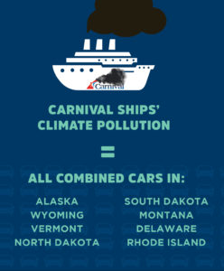 Clean Up Carnival - Investigative report calls on Carnival to stop polluting the climate.